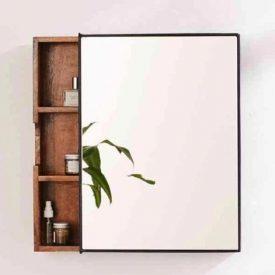 انواع مدل های آینه دستشویی