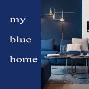 رنگ آبی در دکوراسیون
