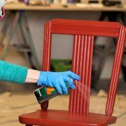 رنگ کردن چوب مبل