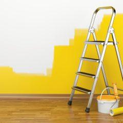 طریقه رنگ زدن دیوار