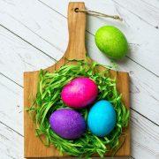 آموزش تخم مرغ رنگی