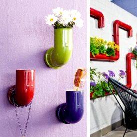 گلدان دیواری دست ساز