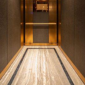 کفپوش مناسب برای کف آسانسور