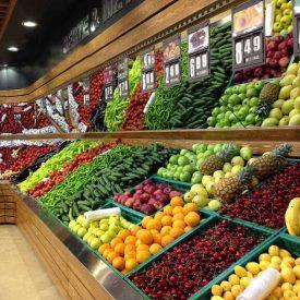 دکور مغازه میوه فروشی