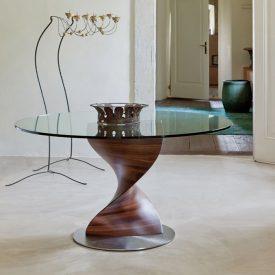 میز ناهارخوری شیشه ای