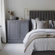 رنگ اتاق خواب طوسی