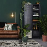 ترکیب رنگ سبز و قهوه ای