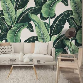 کاغذ دیواری سبز