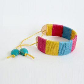 ice cream stick yarn craft 17