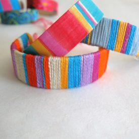 ice cream stick yarn craft 18