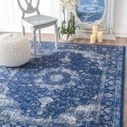 فرش سورمه ای با چه رنگ مبلی ست میشود