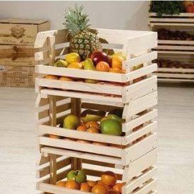 جعبه چوبی میوه