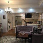 بازسازی آپارتمان 120 متری در شهرک غرب