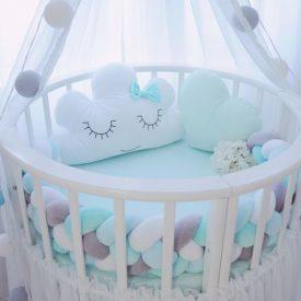 کوسن برای تخت کودک