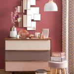 رنگ صورتی در اتاق خواب، خلق یک فضای با طراوت و پر احساس