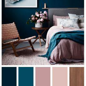 رنگ صورتی در اتاق خواب