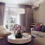طراحی داخلی یک آپارتمان کوچک