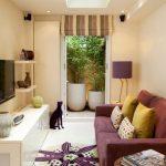چگونه اتاق نشیمن کوچک و کم عرض خانه ام را دیزاین کنم؟